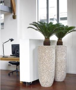 Houten plantenbakken originele plantenbakken for Grote planten voor binnen