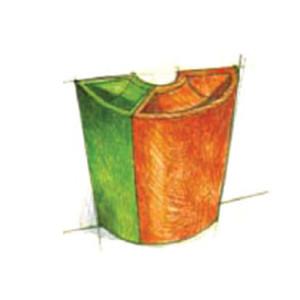 modulaire plantenbak Serralunga