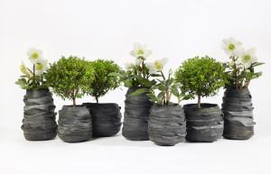 Rubberen plantenbakken