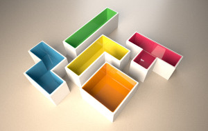 Tetris plantenbak