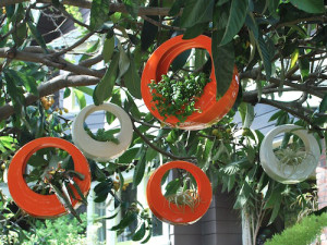 circle pot hangende bloempot