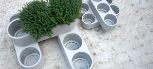 briq stapelbare plantenbak