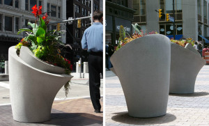 betonnen plantenbak