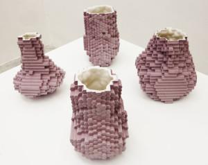 pixel vases bloempotten