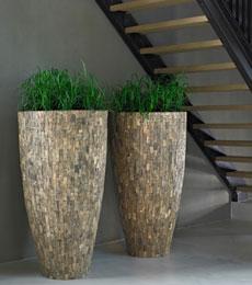 cemani houten plantenbak